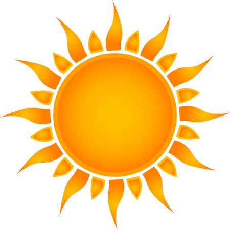 Symbole de Sun  Banque d'images - 6343814
