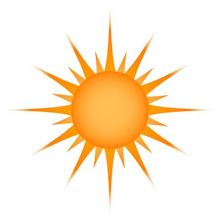 Sun symbol Vector