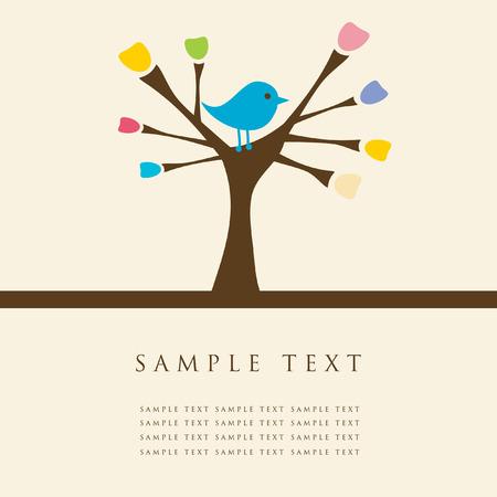 song: Bird on the tree.