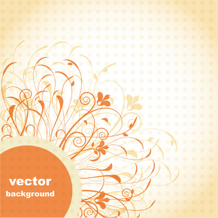 Abstract hand drawn background.  Stock Vector - 7807368