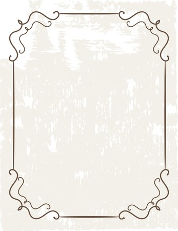 whitern: Grunge frame