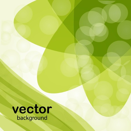 Green spring background  Stock Vector - 7706959