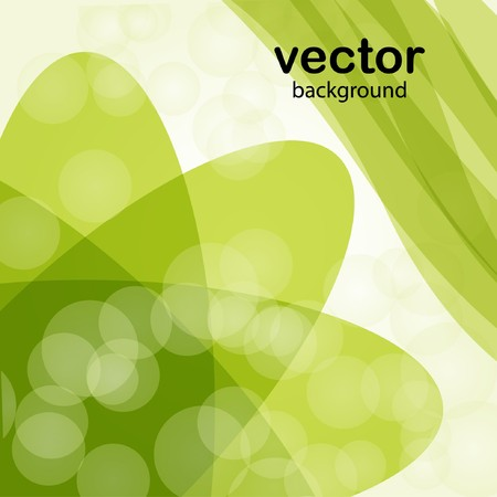 Green spring background Stock Vector - 7706957