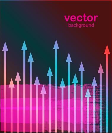 Multicolored arrows Stock Vector - 7706911