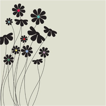 rnart: Floral  background
