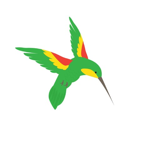 bird icon: humming bird  Illustration