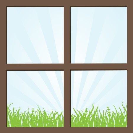 Window  Stock Vector - 7706987