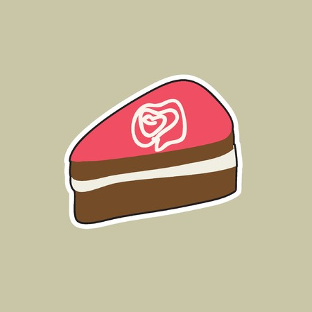 rnart: Piece of cake Illustration