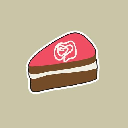 Piece of cake Ilustração