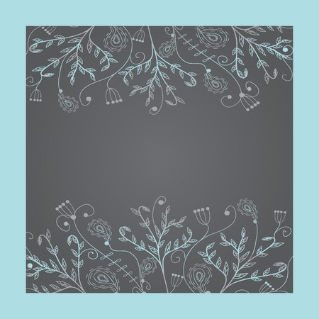 whitern: Vintage floral frame