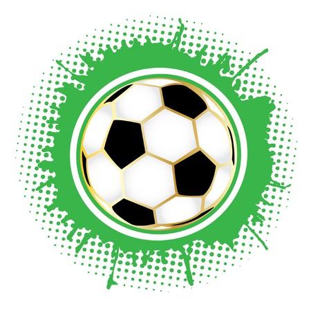 yellowrn: Detailed Soccer ball
