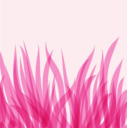 Abstract background with pink leaves  Stock Vector - 7705678
