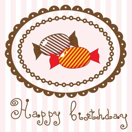 dessert muffin: Birthday card