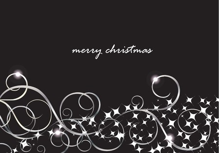 yearrn: Xmas card with snow lights