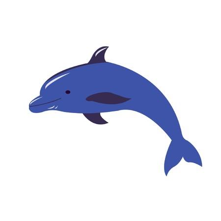 dolphin Vektorové ilustrace