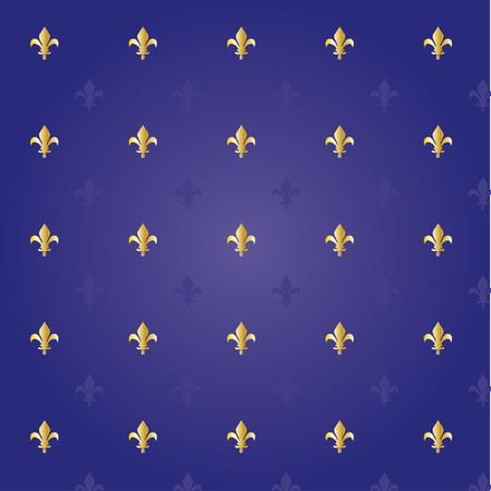 lys: Fleur de lis royal background  Illustration
