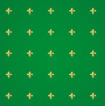 wallpaperrn: Fleur de lis royal background  Illustration