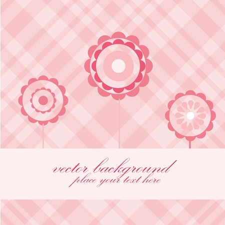 weddingrn: Abstract floral background.  Illustration