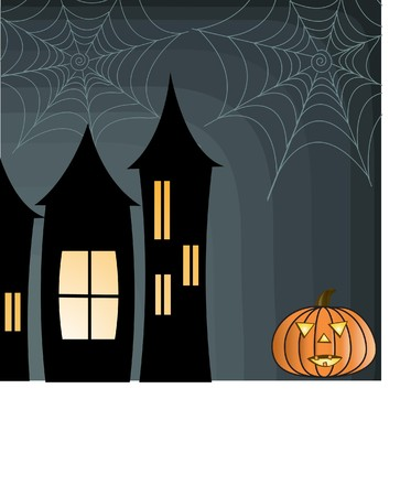 Halloween background  Stock Vector - 7705784