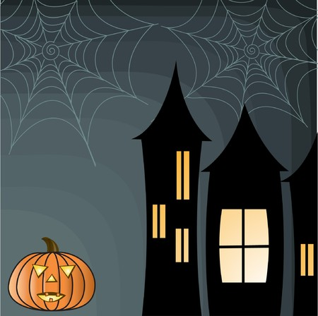 Halloween background  Stock Vector - 7705782