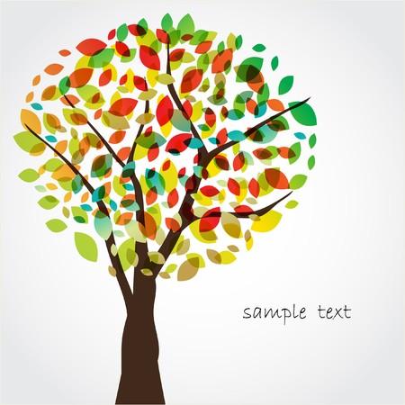 Abstract tree.
