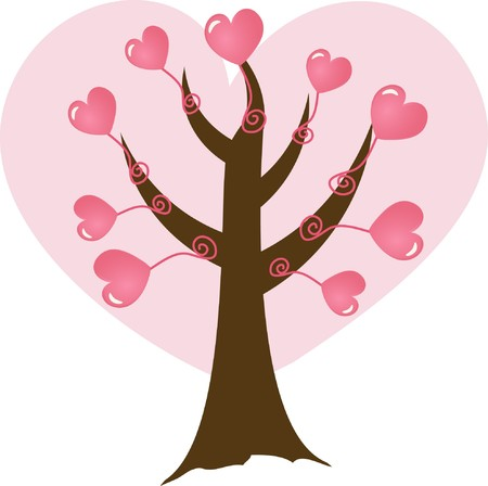 Hand drawn background for valentine`s card Stock Photo - 7763454