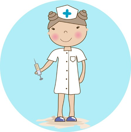 Cartoon nurse photo