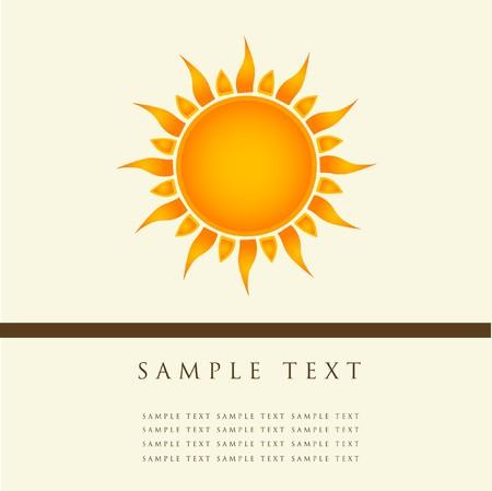 Sun symbol photo