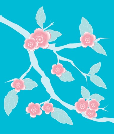 Sakura branch. Stock Photo - 7839043