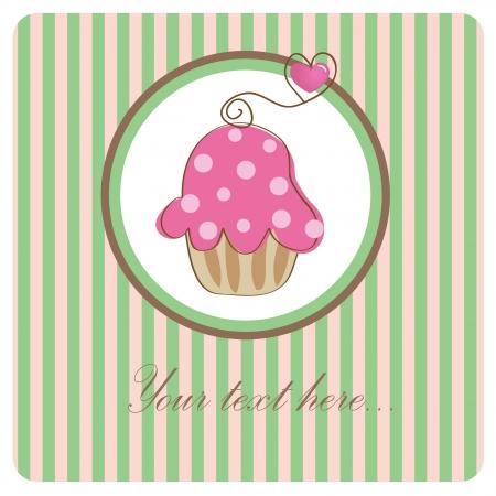Birthday cupcake.  photo