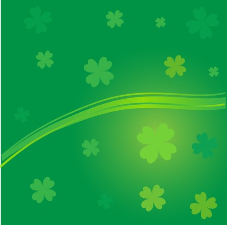 Clover background for St.Patrick day. Stock Photo - 7838809