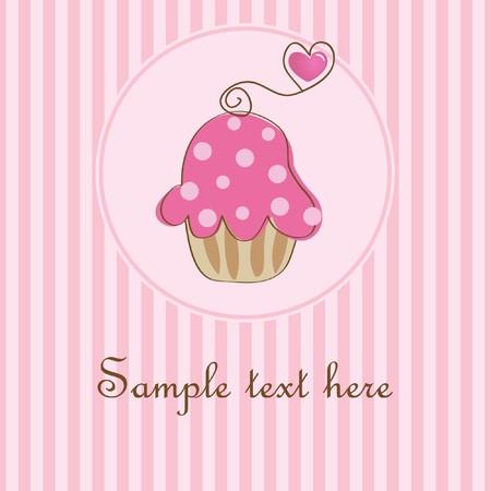 whitern: Cupcake.  Stock Photo