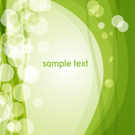 wallpaperrn: Green spring background  Stock Photo