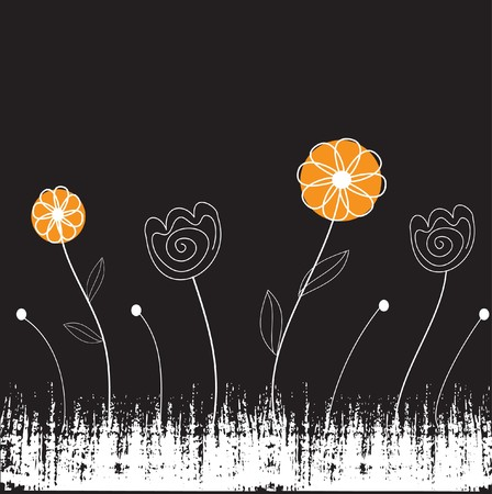 vectorrn: Floral card