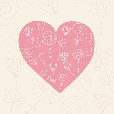 Heart illustration  Stock Illustration - 7792313