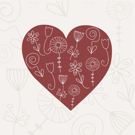 Heart illustration Stock Illustration - 7792334