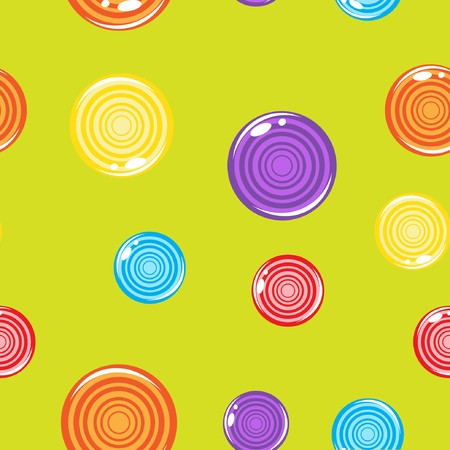 liquorice:   illustration of multicolored Lollipops
