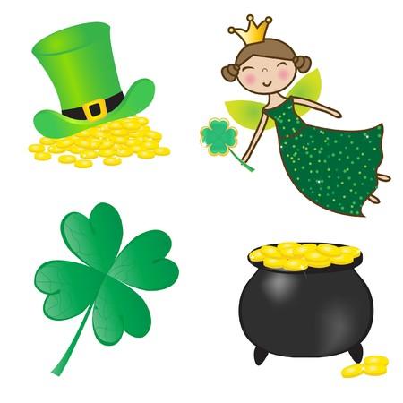 St. Patrick icons set. Stock Photo - 7763786