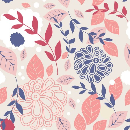 Floral seamless pattern Stock Photo - 7763886