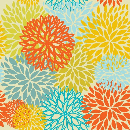 wallpaperrn: Floral seamless pattern