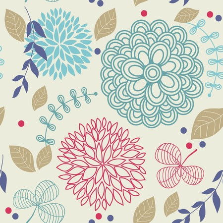 Floral seamless pattern Stock Photo - 7763961