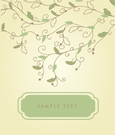 vintagern: Spring background with place for text.  Stock Photo