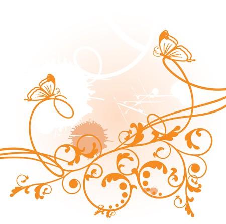 vintagern: Floral card