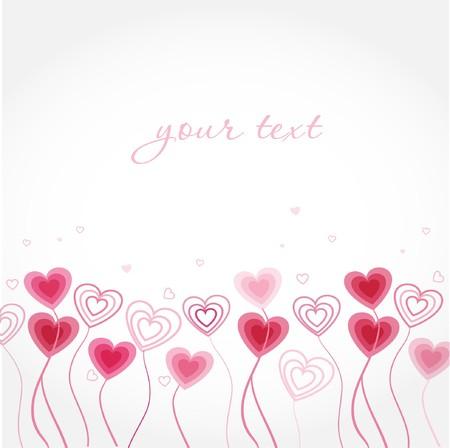 Heart card Фото со стока - 8144046