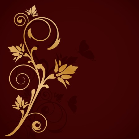 Luxury floral background.  photo