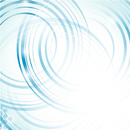 抽象的な青い背景。ベクトルの形式  イラスト・ベクター素材