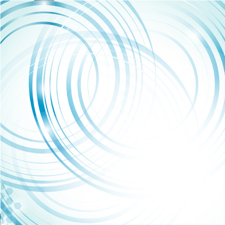 circle design: Abstract blue background. Vector format