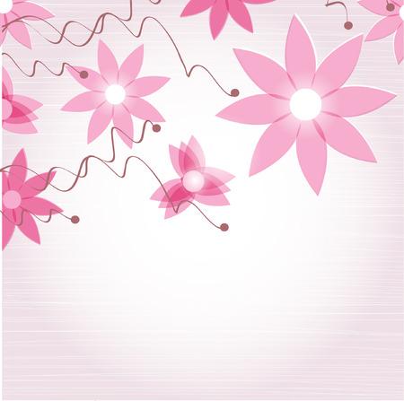 Vintage flower background Stock Vector - 8727644