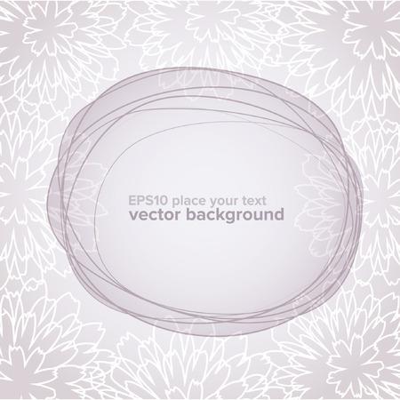 Vintage flower background Stock Vector - 8727654