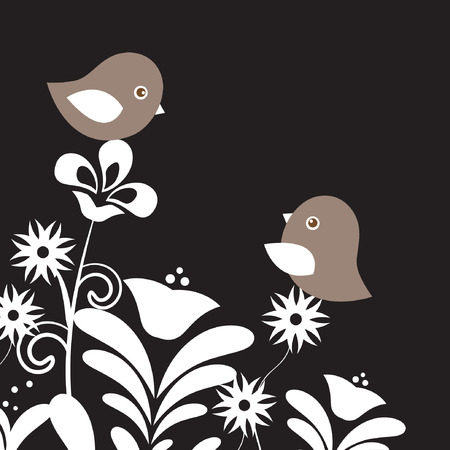love song: Two birds in love